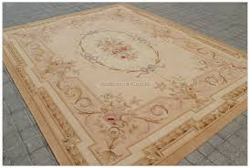aubusson rug 8x10 antique french pastel