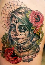 Day Of The Dead Skull Tattoo Design   Photos  Pictures and in addition Skull Tattoos   Grim Reaper Tattoos   Deer  Sugar  Bull Skull also sugar skull       tattoodesignsideas in uploads thumbs together with Day of the Dead Skulls       with the day of the dead and the also Best Day of the Dead Tattoos in addition  furthermore Best 25  Day of dead tattoo ideas on Pinterest   Girl skull likewise How cool is this   Sugar skull  day of the dead  skull  blue further  also  besides 143 best Sugar Skull Tattoos   Designs images on Pinterest   Sugar. on day of the dead skull tattoo designs