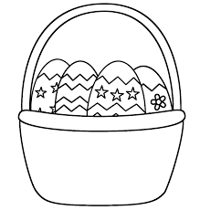 Small Picture Easter Basket Coloring Pages Depetta Coloring Pages 2017