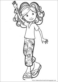 Small Picture Beautiful Coloring Page Of A Girl 24 For Your Free Coloring Book
