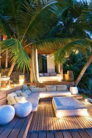 tropical outdoor lighting. outdoor living spaces 25 ideas to improve home decorating with lights tropical lighting g