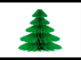 How to Make a Paper Christmas Tree - YouTube