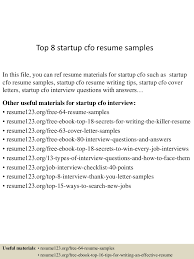 Awesome Collection Of Startup Resume Example About Cover Letter