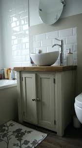 refinishing bathroom sink. Refinishing Bathroom Cabinets Ideas Chunky Rustic Painted Sink Vanity Unit Wood Shabby Chic .