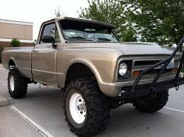 Old 4x4 Trucks For Sale   1967 Chevrolet C20 4x4 Pickup Silver, for ...