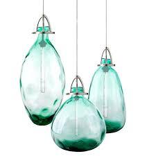 blown glass light pendants hand blown glass pendant light uk