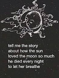 Sun And Moon Quotes Amazing Heartbroken Quote Sad Love Sun And Moon Sun Moon Story Of 48