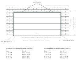 residential garage door size typical garage depth average garage door size average garage door sizes average