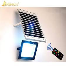 new solar panel light 50w 30w 20w remote control sensor led solar power lamp waterproof outdoor