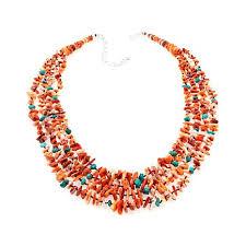 jay king orange spiny oyster s and gem necklace