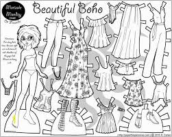 Free Printable Paper Doll Coloring Pages Best Of Marisole Monday