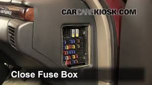 interior fuse box location chevrolet monte carlo  interior fuse box location 1995 1999 chevrolet monte carlo 1999 chevrolet monte carlo z34 3 8l v6