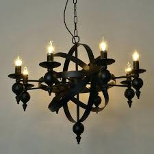 wrought iron candle chandelier iron chandelier