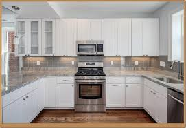 Brilliant Kitchens With White Cabinets And Backsplashes Kitchen Backsplash Ideas For Modern Beautiful Design