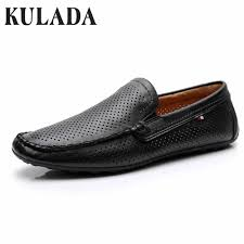 <b>KULADA Men Shoes</b> Summer Sandals Loafers Boat On Driving ...