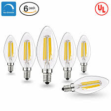 Halogen Replacement Led Lights Details About 6 Packs E12 Warm White Led Light Lamp Bulbs Halogen Replacement 4w 400lm 2700k
