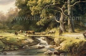 oil painting reions koekkoek barend