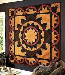 79 best Native American & Southwestern Quilts images on Pinterest ... & Image detail for -Duck Island Basket Quilt Native American Basket Design  Applique Quilt . Adamdwight.com
