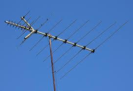 tv antenna. tv antenna
