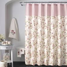 pink shower curtains. Rosalie Floral Shower Curtain By Piper \u0026 Wright | Pink Curtains T