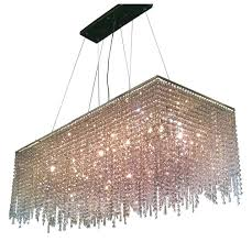 rectangular crystal chandelier 8 light contemporary crystal chandelier rectangular shape chrome finish rectangular crystal chandelier canada