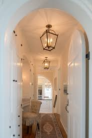 ... Spectacular Light Fixtures Decorating Ideas For Hall Traditional Design  Ideas With Spectacular Addition Arched Door Hallway ...