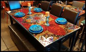 dining room table with tiles. dining room table with tiles e