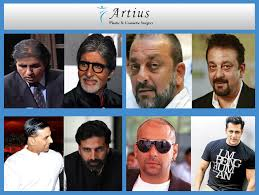 celebrities hair transplant artius