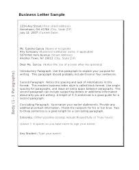 Business Letter Format Spacing Template Adorable Business Letter Format Indented Copy Magnificent Format Cover Letter