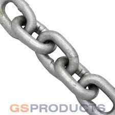 Steel Chain Strength Chart Galvanised Steel Short Link Chain 5mm To 20mm Gs Products