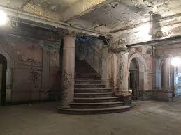 divine lorraine hotel the abandoned lobby and grand staircase