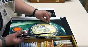cart link jerry s live oil pastel painting step by step featuring mungyo oil pastels