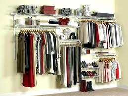 rubbermaid closet storage closet closet organizer lovely 3 5 foot closet kit warm organizer kits decoration