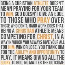 Christian Athletes Quotes