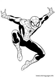 In the movie the amazing spiderman. Ultimate Spiderman 3 Coloring Pages Spiderman Coloring Spiderman Drawing Cartoon Coloring Pages