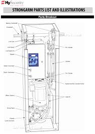 hysecurity strongarm parts diagram