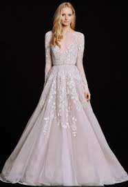hayley paige wedding dresses that give major unicorn vibes Wedding Day Vibes Hayley Paige hayley paige's 'hayley' embellished english net & tulle long sleeve ballgown hayley paige wedding day vibes robe