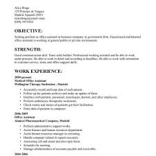 Resume Format For Office Job Office Job Resume Templates Fred Resumes 1