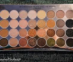 opinie o produkcie ultra eyeshadows flawless makeup revolution paleta cieni