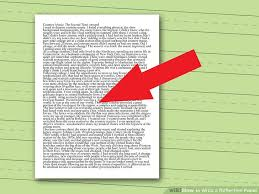 how to write a reflection paper steps pictures  image titled write a reflection paper step 8
