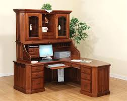 home office desk hutch. Office Desk And Hutch Wooden Black Home With .