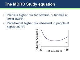 the mdrd study equation