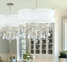 chandelier with shades and crystals appealing dining room inspirations captivating drum shade chandeliers shades of light chandelier with from chandelier