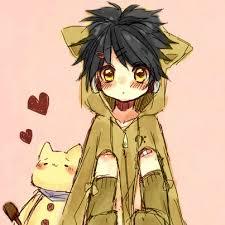 anime chibi cat couples. Simple Anime Little Boy In A Neko Coat Kawaii Cat Chibi Cute On Anime Chibi Cat Couples
