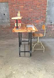 diy pallet iron pipe. Pallet And Steel Metal Pipe Computer Desk Diy Iron H
