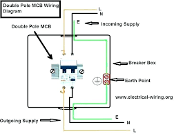 double pole thermostat wiring diagram venuzcraft com 4 Wire Thermostat Wiring at Wire Diagram For 4 Pole 240v Thermostat