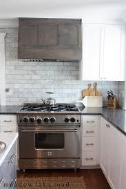 Marble Tile Kitchen Backsplash A Mid Century House Design Project Lakes Subway Tile Backsplash