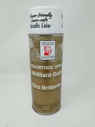 Design Master Brilliant Gold 731 Design Master Colortool Metal Spray Paint 11oz Brilliant Gold