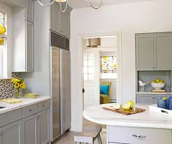 Countertop Colors. Virtually any countertop color looks good with gray  kitchen cabinets.