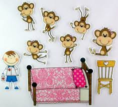 fashionable inspiring idea no more monkeys jumping on the bed wall art or 20 for no